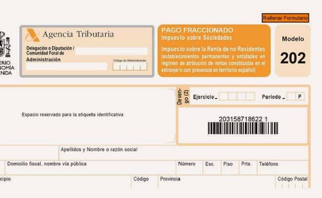 ejemplo de pagos a cuentas de impuesto de sociedades