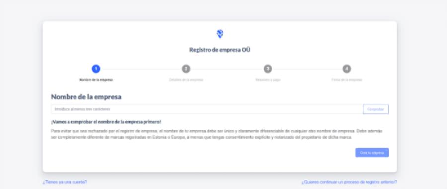 cómo registrar una empresa en Estonia